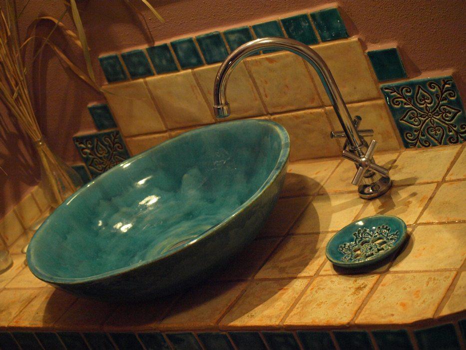 WohnInnen Ideen - Designer Waschbecken Rund - Design Historische Aufsatz Waschbecken