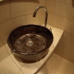 Badezimmer Idee Galerie - Handwerk Waschbecken - Handbemalte Antikes Aufsatz Waschbecken