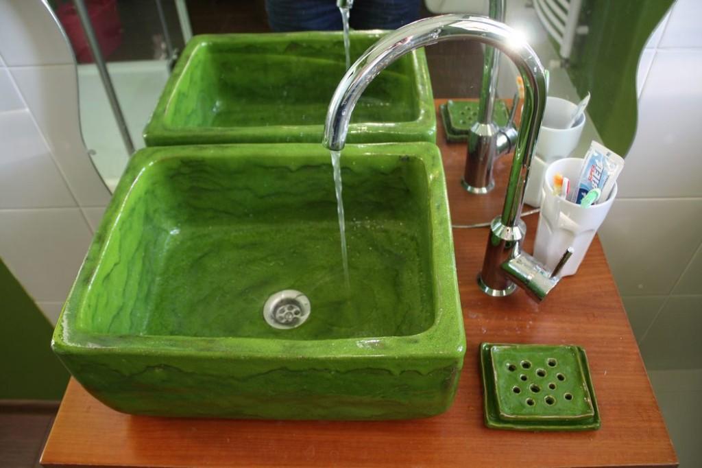 Badezimmer idee galerie handwerk waschbecken for Aufsatz spülbecken