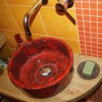 Bad Wohn Ideen - Luxus Waschbecken - Handbemalte Antik Hand Aufsatz Waschbecken