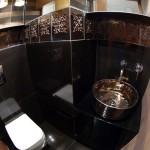Bad wohn Idee - Rustikal Waschbecken - Bemalte Nostalgie Aufsatz Waschbecken