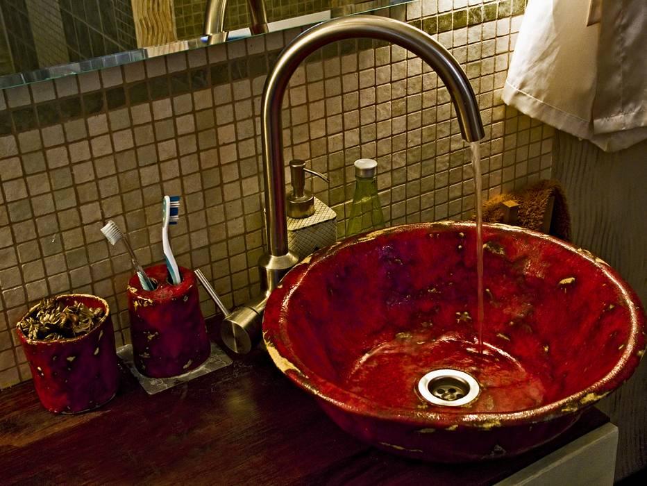 WohnInnen Ideen - Handbemalte Waschbecken - Design Luxus Aufsatz Waschbecken