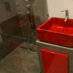 Badezimmer Wohn Ideen - Landhausstil Waschbecken - Designer Landhaus Aufsatz Waschbecken