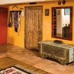 Terrakotta Badezimmer