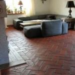 Terracotta Wand - Terrakotta Fliesen