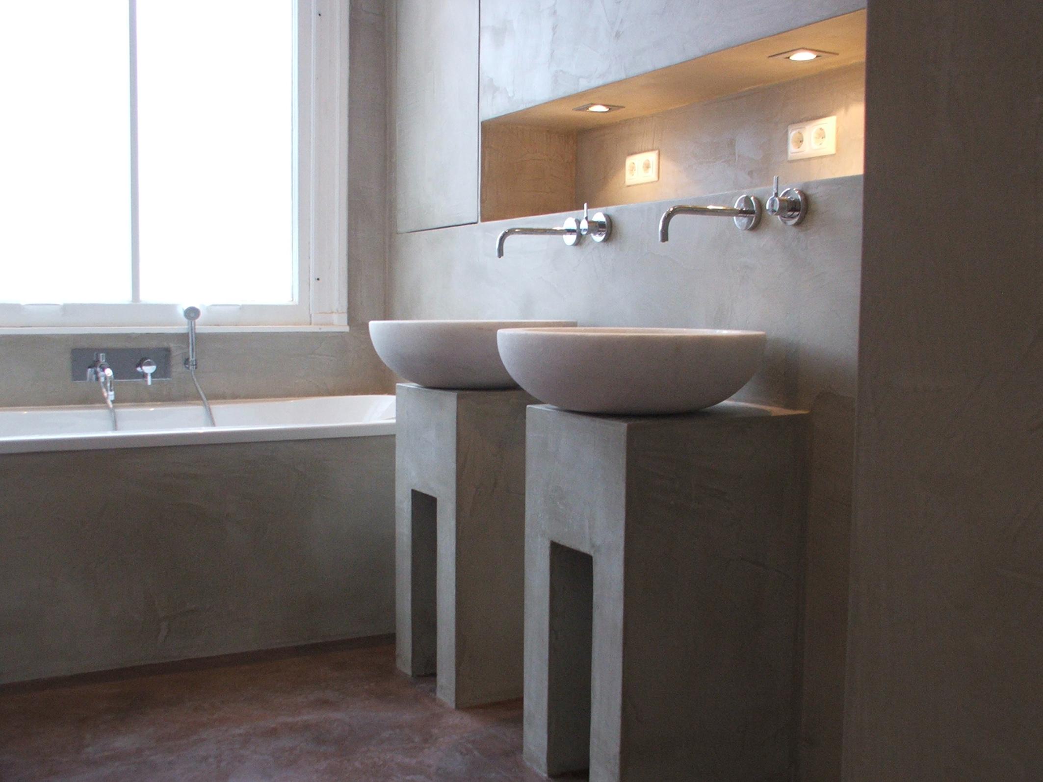 betonwaschbecken luxus designer vintage waschbecken. Black Bedroom Furniture Sets. Home Design Ideas