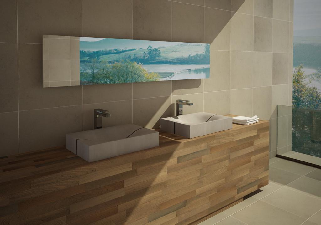 Beton Waschbecken Design