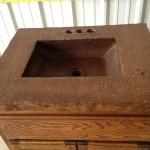 Betonwaschbecken Rustikal