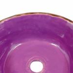 Violett Waschbecken