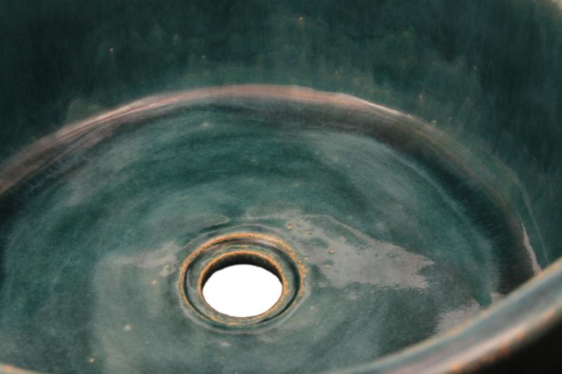 Rustikales Waschbecken