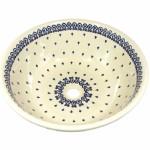 Waschbecken mit Bunzlaumotiv