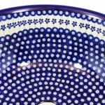 Marineblaue Waschbecken