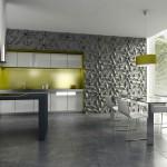 Küche - Betonfliesen
