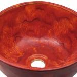 Rustikales Waschbecken aus Keramik