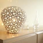 Handgeformte Lampe - Lampe Mit Lochen