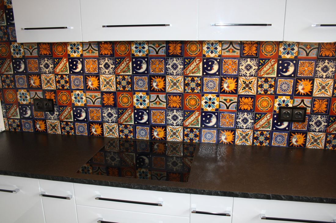 Mexikanische Keramik Fliesen